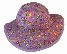 Bugzz Butterfly Sun Hat Ages 1-3 & 3-6 Years Brand New Free P&P