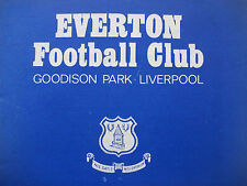 Everton Home Programmes 2 *Select from list*
