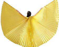 Deluxe Handmade Brand new Gold Handmade Praise worship Dance Angel Wings