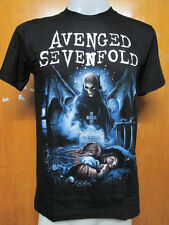 T SHIRT AVENGED SEVENFOLD NIGHTMARE METAL BAND NEW ! SIZE L