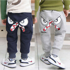 Fashion Kids Boys Girls Unique Harem Pants Trousers Birds Kids Clothes Sz2-7Y