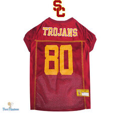 NCAA Pet Fan Gear USC TROJANS Jersey Shirt Tank for Dog Dogs Puppy XS-2XL