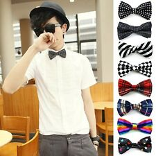 CHEAP!!! New Men Boys Prom Ball Party Mens Business Bow Tie Adjustable Neck Ties