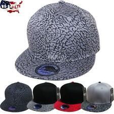 Fashion Elephant Print Hiphop Cap Snapback Baseball Cap Adjustable Hat Unisex