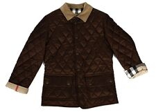 BURBERRY LONDON COAT QUILTED NOVA CHECK COAT Size: 4 Y,8 Y Authentic
