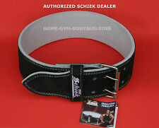 NEW Schiek L6010 Powerlifting Competition Power Belt Suede Leather Black All Sz