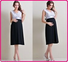 Maternity Evening dress,BabyShower Wedding office formal gown,Easy breastfeeding