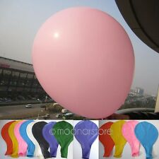 36'' inch Latex Giant Birthday Wedding Party Greeting Decoration Big Balloons PJ