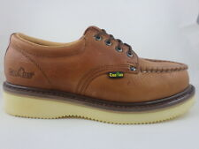 Cactus Work Shoes Low Top 422M Light Brown Real Leather New In Box