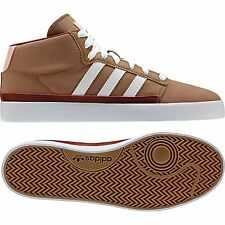 Adidas Originals Rayado Mid Brown Canvas Men's Trainers Shoes Sizes UK- 8_10