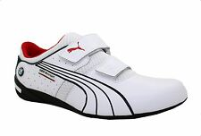 MEN'S PUMA BMW MOTORSPORT NYTER 2 VELCO SPORT RACING WHITE TEAM SNEAKERS SHOES