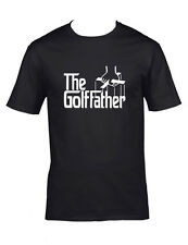The Golf Father T-shirt, 'Godfather style' Golfers Tee, all sizes, Small to 5XL