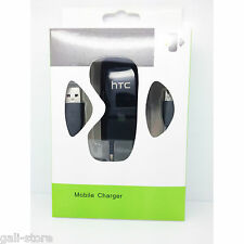 CARGADOR PARED HTC + CABLE DATOS MICRO USB BLANCO NEGRO CHARGER CAJA ORIGINAL LG