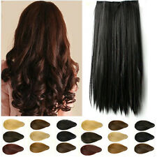 USA 1 Class shipping one piece Clip In hair extensions Half Full head 100% natur