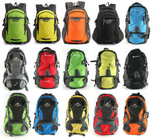 Large Camping Hiking Travel Luggage Rucksack Backpack Fishing Bag Trekking 40L