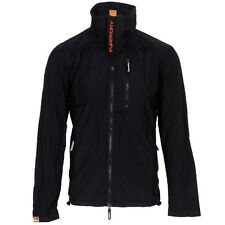 Superdry MS5IZ083 Technical Windhiker Jacket Coat  S M L XL XXL  Black Jaffa