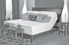 Leggett Platt dual Queen Prodigy adjustable bed, all Talalay mattress. 8, 9, 10""