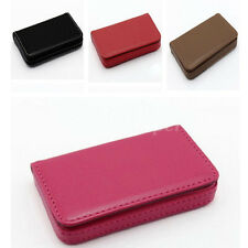 FASHION Mens Womens Wallet PU Leather Business Credit ID Card Holder Case Purse