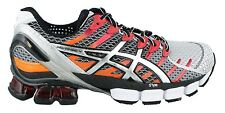 Asics Kinsei 4 Men's Running Shoes NEW Lightning Black Red Orange T139N 0191