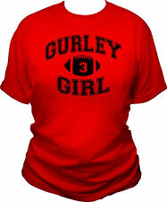 GURLEY GIRL WOMENS T-SHIRT TODD GURLEY GEORGIA BULLDOGS GA UGA DAWGS LADIES TEE