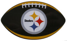 Pittsburgh Steelers Decal Sticker Football with Team Logo NFL Licensed
