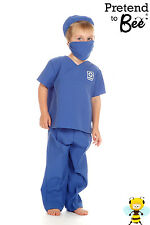 BOYS CHILDRENS KIDS MEDIC SURGEON HOSPITAL DOCTOR NURSE COSTUME OUTFIT AGE 3 -7