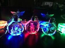 League Of Legends Crystal 7 Color Flash LED Light Keychain