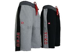 ECKO MENS ATEGO SHORTS LONG FLEECE MULTI USE FITNESS SPORTS BEACH RUNNING