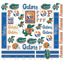 College Football decals water slide 1:64 scale decal sheet 1/64 #25