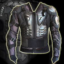 Motorcycle Full Body Armor Jacket Spine Chest Protection Gear  M L XL XXL XXXL