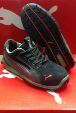 Men's Puma Athletic Grey Steel Toe Work and Safety Shoes 642685