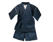 Japanese Traditional Jinbei Set Boys Top & Shorts
