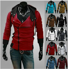 New Assassin's Creed III 3 Desmond Miles Cosplay Costume Hoodie Jacket Coats