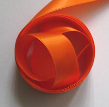"1"" - 25mm Double Satin Orange Ribbon 5 Mtrs (Col 26)"