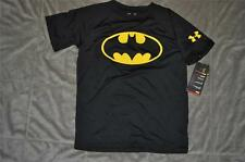 Under Armour Alter Ego BATMAN Loose Fit T-Shirt 1248519 001 Youth Boys NWT