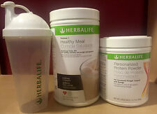 NEW HERBALIFE FORMULA 1 + PERSONALIZED PROTEIN & SHAKER - FREE FEDEX SHIPPING