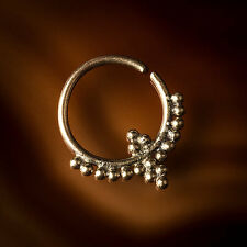 100% Nickel Free Brass Septum Ring for Pierced Nose (Code 11)