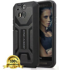 OEM ENCASED® Armor Tough Impact Resistant [Case + Screen Guard] for HTC ONE M8