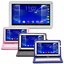 "iRulu 10.1"" Android 4.4 KitKat Quad Core WIFI Tablet PC 1GB/16GB w/ Keyboard"