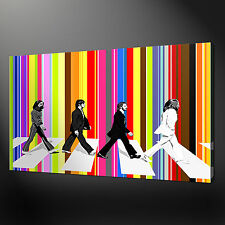 BEATLES ABBY ROAD WALL DESIGN CANVAS PRINT PICTURE VARIETY OF SIZES FREE UK P&P