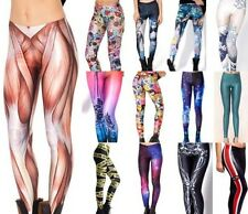 Naughty Sexy 3D Graphic Printed Women Leggings Tights Yoga Party Club BH BX02