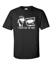 """Roger Goodell """"I Never Saw the Video"""" Commissioner Ray Rice Men's Tee Shirt 247"""