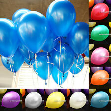 50/100pcs Colorful Pearl Latex Balloon for Celebration Party Wedding Birthday