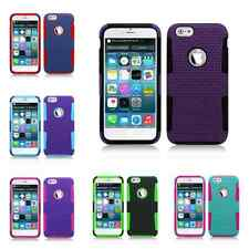 Apex Mesh Hybrid Gel Protective Cell Phone Case Cover for Apple iPhone 6, 4.7""