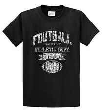 Football Athletic Dept Printed Tee Shirt for Men Regular and Big and Tall Sizes