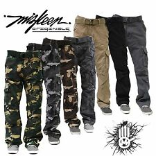 MISKEEN Authentic Men's Casual Military Army Camouflage Camo Cargo Combat Pants