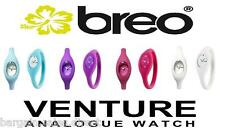 BREO VENTURE ANALOGUE UNISEX SPORTS WRIST WATCH PURPLE BLUE RUBINE RED WHITE