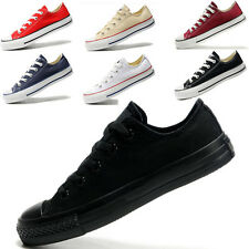 Hot Men's Women's Canvas ALL STARs Chuck Taylor Sneakers Ox Low Top Flats Shoes