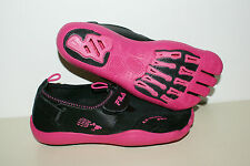 FILA Skele-toes Womens New Black Pink EZ Slide Barefoot Running WaterShoe