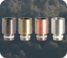 Brass Copper Stainless Steel Wide Bore 510 Drip Tip RBA RDA POM 454 King Perseus